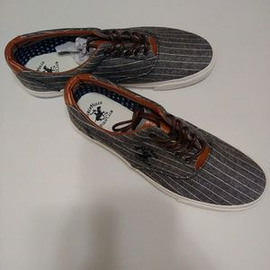 Beverly Hills Polo Club Lace Up Sneaker NIB